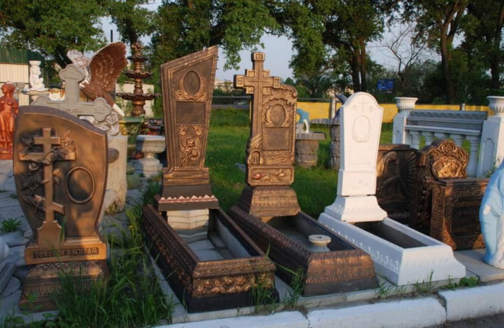 надгробия бетон