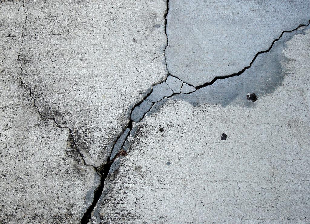 полость бетона