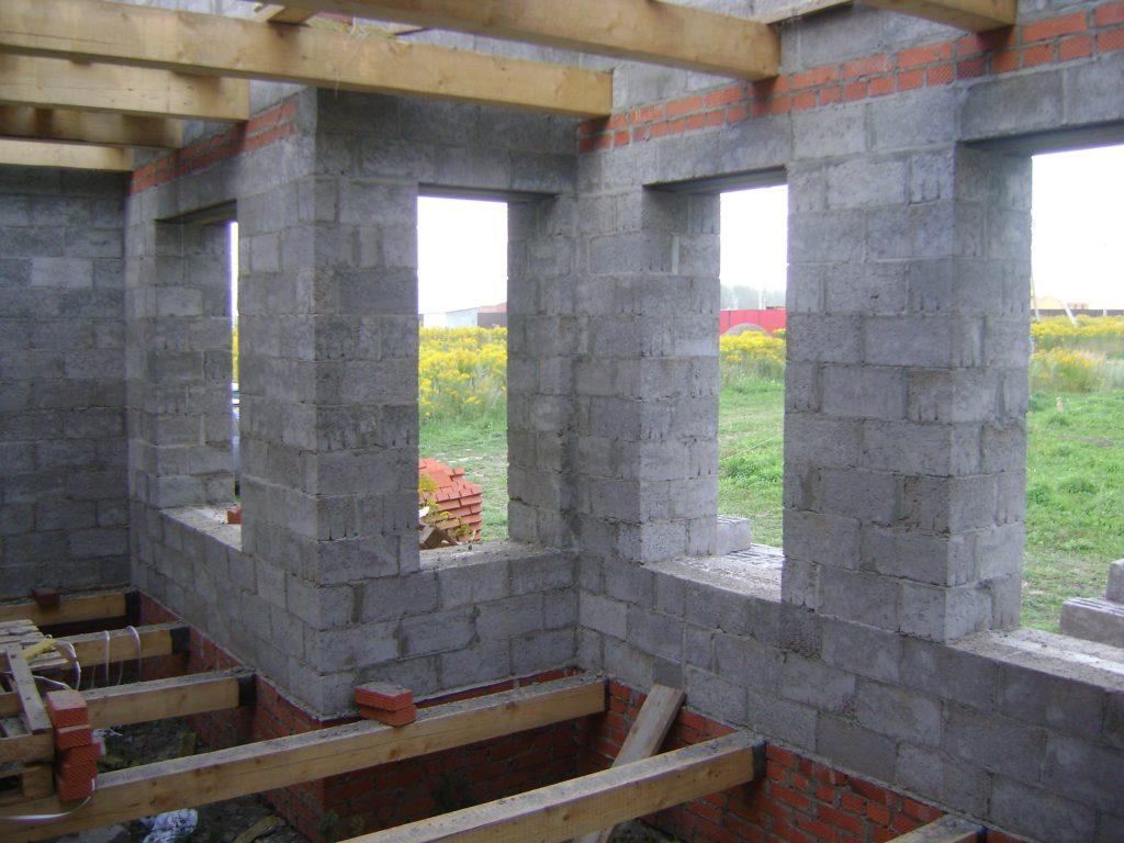 Дом из монолитный керамзитобетон вес бетона м3
