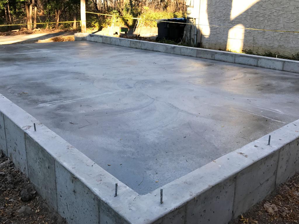 Сыпучий бетон керамзитобетон размеры