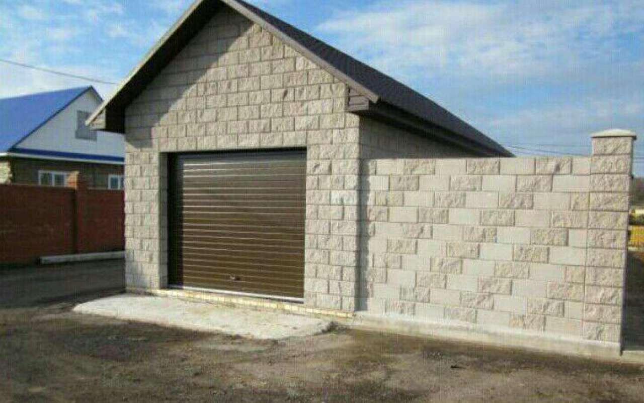 Керамзитобетон гараж краска по бетону купить в нижнем новгороде