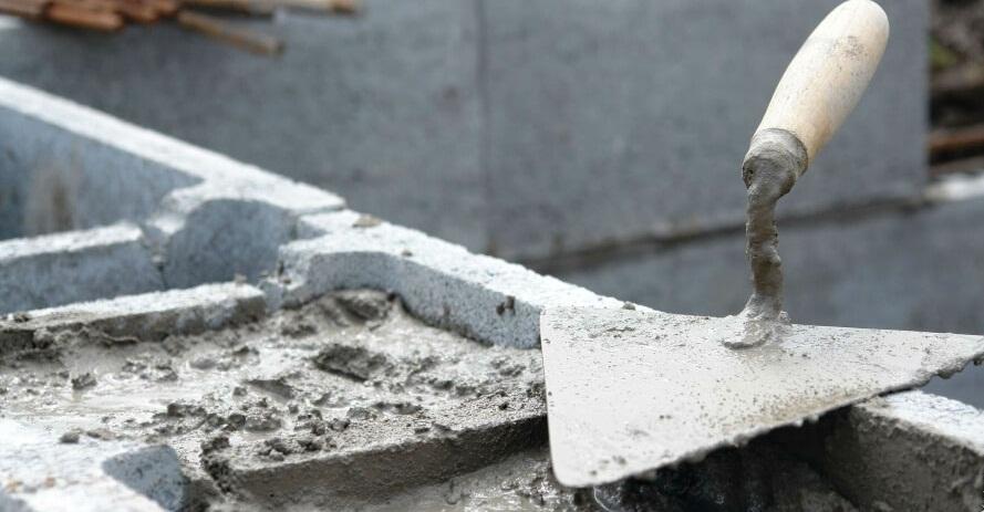 Бетон тощий и обычный как правильно штукатурить стены цементным раствором по маякам