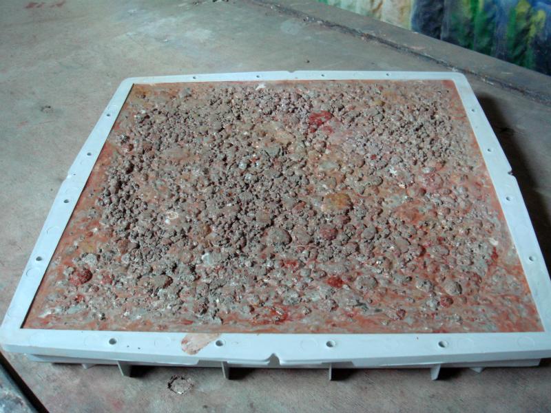 кевлара бетон