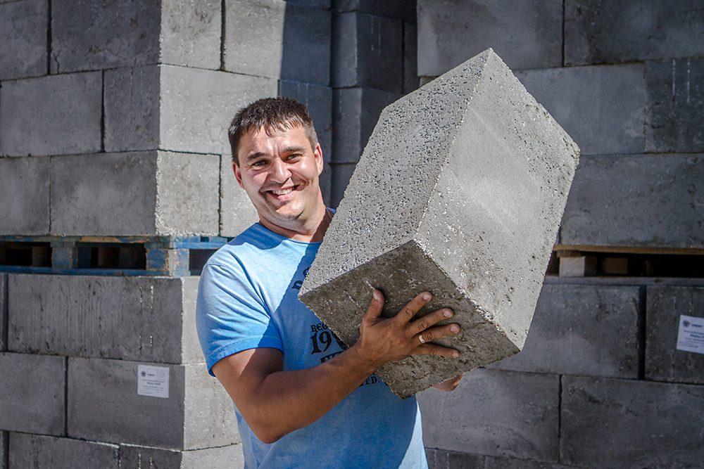 Бетон облегченный бетонная смесь с пузырьками