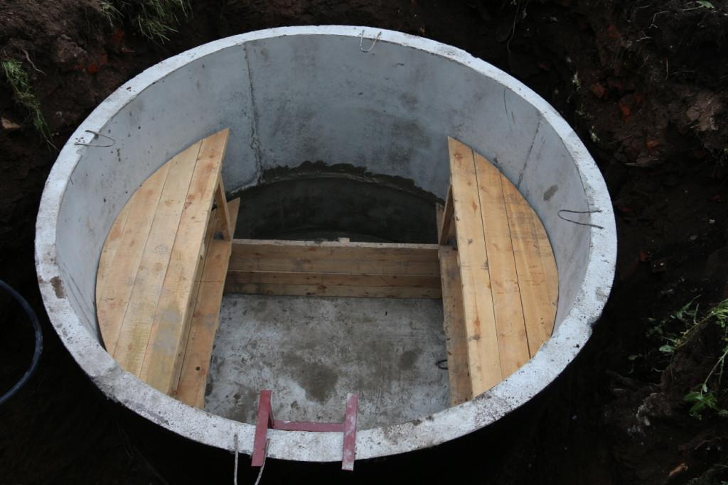 погреб из колец бетонных фото