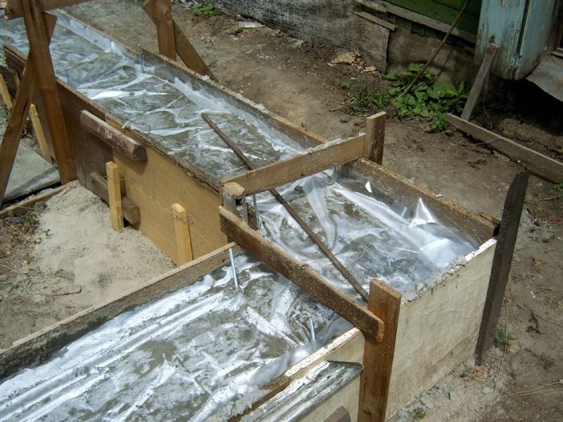 Бетон под дождем цементный раствор для заливки двора