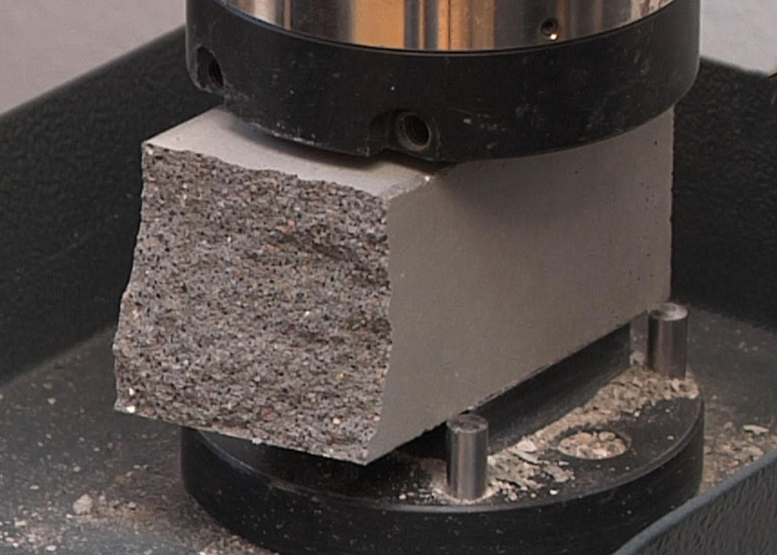 Бетон сжатие наполнитель бетона виды