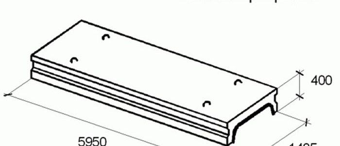 потолочные плиты перекрытия размеры