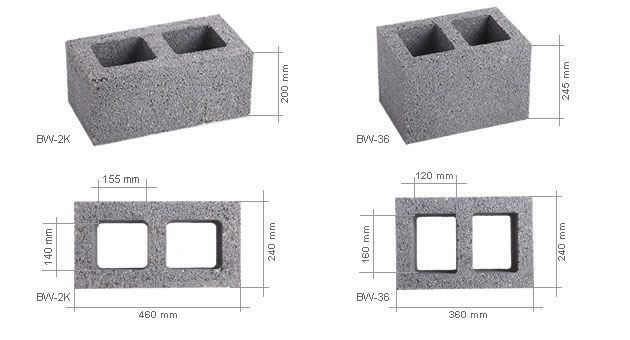 Вентблоки из керамзитобетона калининград смеси бетонные сп
