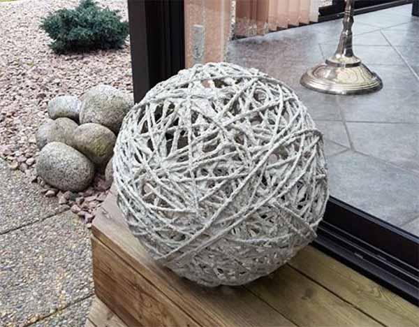 шарики из бетона
