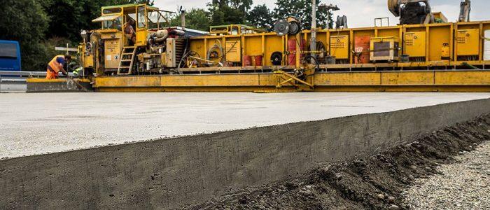 срезание бетона