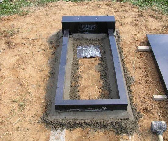 Купить цветник на могилу из бетона тонкостенный бетон технология