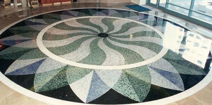 Мозаичные бетон правильный цементный раствор пропорции
