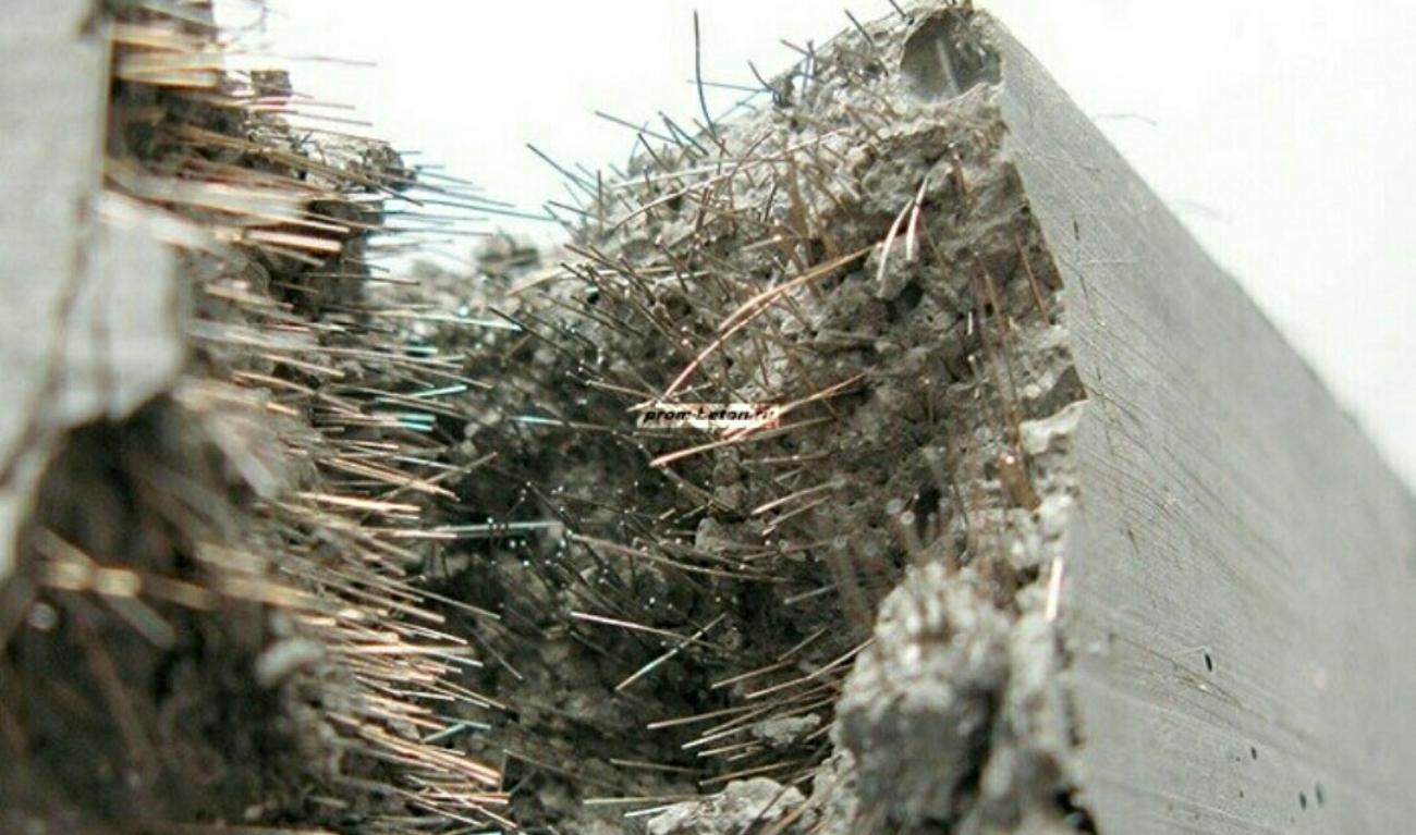 Микрофибра в бетоне смесь бетонная бсг 65