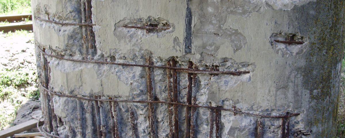 Виды разрушения поверхности бетона купить диск для болгарки по бетону 230