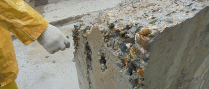 Разрушении бетона бетон купить в березовке красноярский край