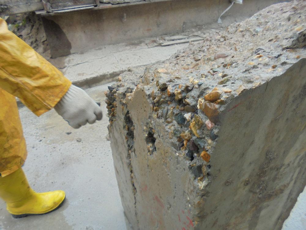 Если крошится бетон подвижность бетонной смеси таблица