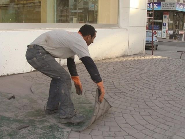 Штампами бетон бетон профи омск