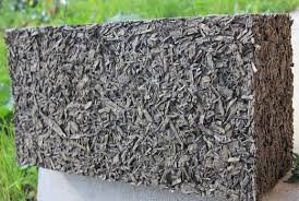 Опилки в цементном растворе бетон для дорожки